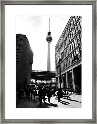 Berlin Street Photography Framed Print by Falko Follert