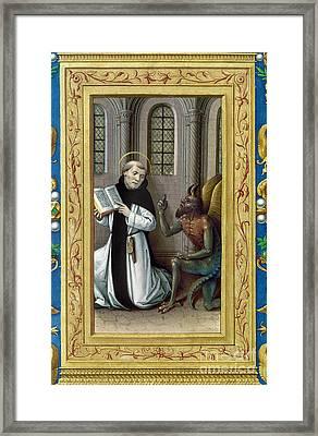 Bernard De Clairvaux Framed Print by Granger
