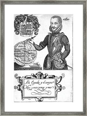 Bernard De Vargas Machuca, Spanish Framed Print by Middle Temple Library