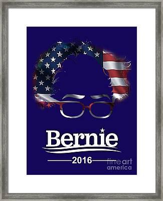 Bernie Sanders 2016 Framed Print by Marvin Blaine