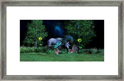 Best Friends Framed Print by Betsy C Knapp