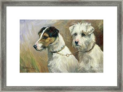 Best Friends Framed Print by Florence Jay