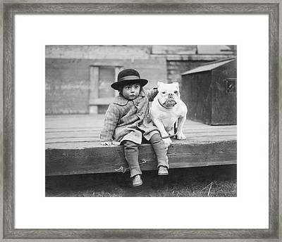 Best Friends Framed Print by Kirby