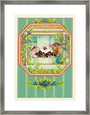Best Friends Framed Print by Lynn Bywaters