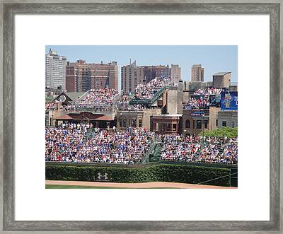 Best Seats On The House..... Framed Print by WaLdEmAr BoRrErO