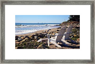Best View Of The Point Framed Print by Ron Regalado