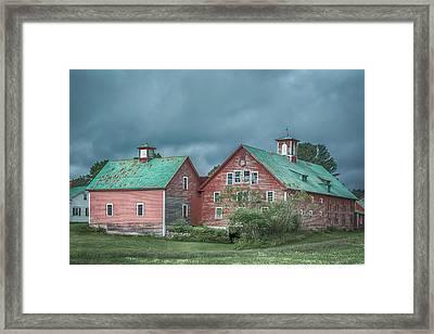 Bethel Barn Framed Print by Guy Whiteley
