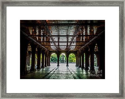Bethesda Terrace Arcade 2 Framed Print by James Aiken