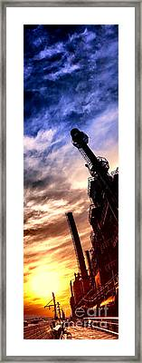 Bethlehem Steel Glory Framed Print by Olivier Le Queinec