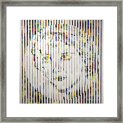 Bette D Framed Print by Sean Ward