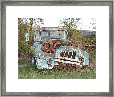 Better Days Framed Print by Linda Meyer
