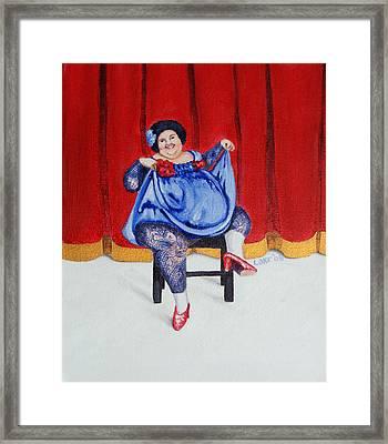Betty II Framed Print by Matthew Lake