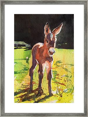 Beyond Cute Framed Print by Spencer Meagher
