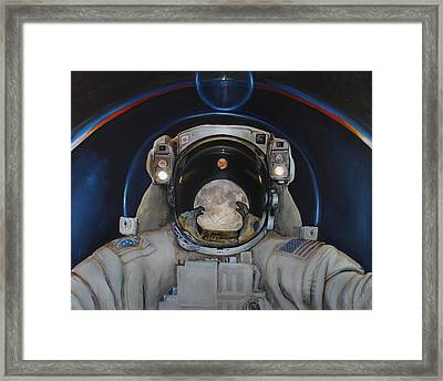 Beyond Framed Print by Simon Kregar