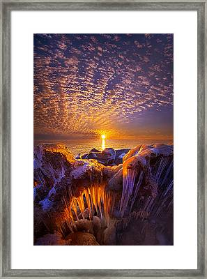 Beyond The Limits Framed Print by Phil Koch