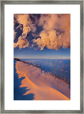 Beyond The Reaches Framed Print by Phil Koch