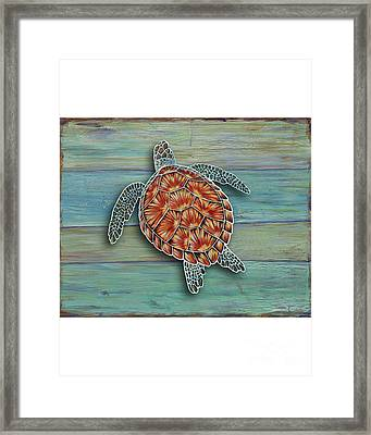Beyond The Sea 3 Framed Print by Danielle Perry