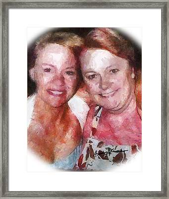 BFF Framed Print by Anthony Caruso