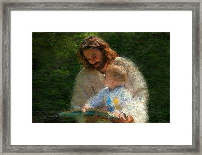 Bible Stories Framed Print by Greg Olsen