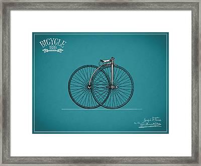 Bicycle 1889 Framed Print by Mark Rogan