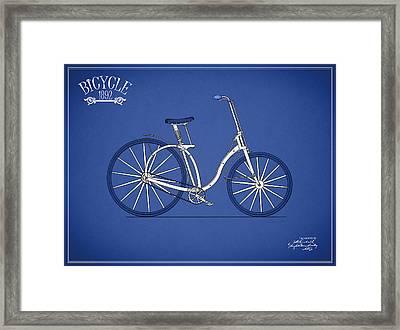 Bicycle 1892 Framed Print by Mark Rogan
