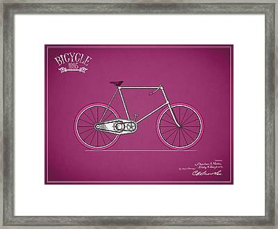 Bicycle 1895 Framed Print by Mark Rogan
