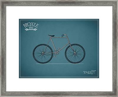 Bicycle 1896 Framed Print by Mark Rogan