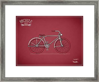 Bicycle 1935 Framed Print by Mark Rogan