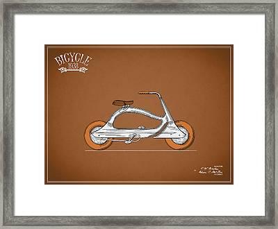 Bicycle 1938 Framed Print by Mark Rogan