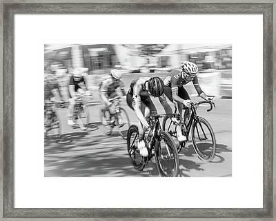 Criterium Framed Print by Jim Hughes