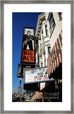 Big Al's Framed Print by Mary Capriole