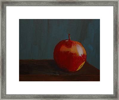 Big Apple Framed Print by Russell Smidt