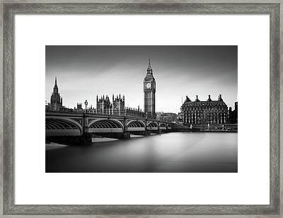 Big Ben Framed Print by Ivo Kerssemakers