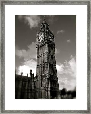 Big Ben Framed Print by John Colley