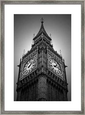Big Ben Framed Print by Kamil Swiatek