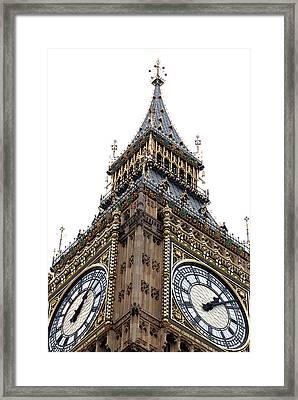 Big Ben Framed Print by Peter Funnell