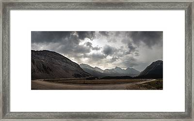 Icefields Parkway Framed Print by Cale Best