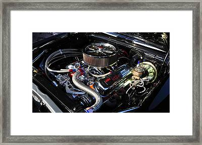 Big Block Chevy Framed Print by David Lee Thompson