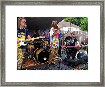 Big Chief Monk Boudreaux Framed Print by Terry Finegan