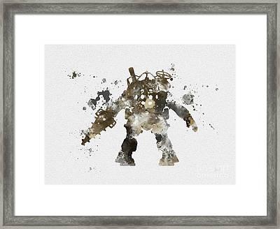 Big Daddy Framed Print by Rebecca Jenkins