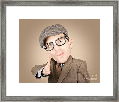 Big Deal Framed Print by Jorgo Photography - Wall Art Gallery