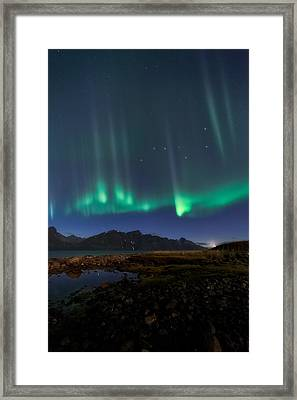 Big Dipper Framed Print by Tor-Ivar Naess