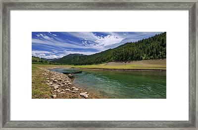 Big Elk Creek Framed Print by Chad Dutson