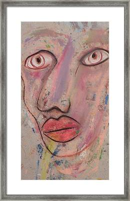 Big Eyes Framed Print by Robert Daniels