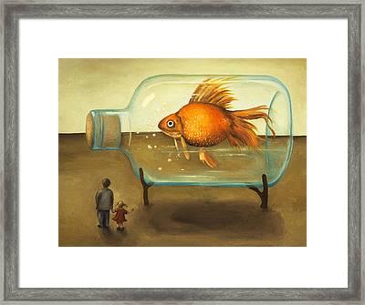 Big Fish Framed Print by Leah Saulnier The Painting Maniac