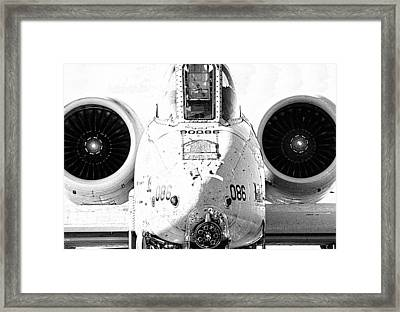 Big Guns IIi Framed Print by Ricky Barnard
