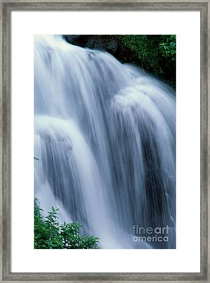 Big Island Waterfall Framed Print by William Waterfall - Printscapes