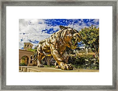 Big Mike Framed Print by Scott Pellegrin