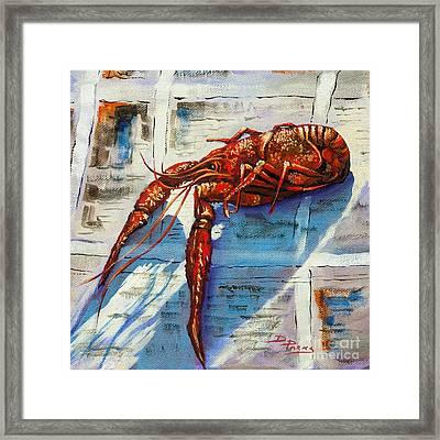 Big Red Framed Print by Dianne Parks