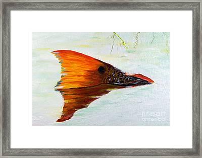 Big Red Framed Print by Georgie McNeese